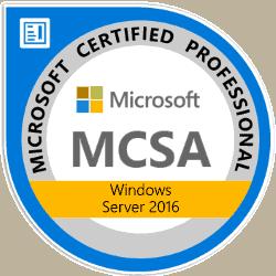 Windows Server Microsoft Certified Professional